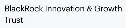 Blackrock Innovation and Growth Trust